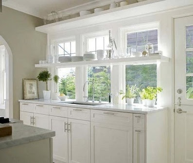 country style chic all white country kitchens