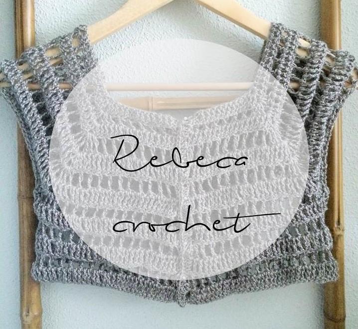 Rebeca tipo bolero en crochet paso a paso | S L O A N E S T R E E T