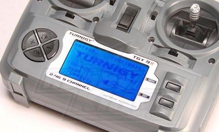 Instalar Back light Kit en Turnigy 9X