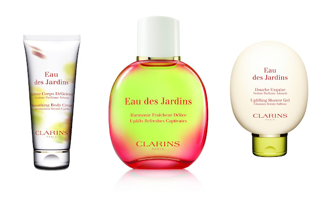clarins eau des jardins spring has sprung lovely girlie bits best irish beauty blog image. Black Bedroom Furniture Sets. Home Design Ideas
