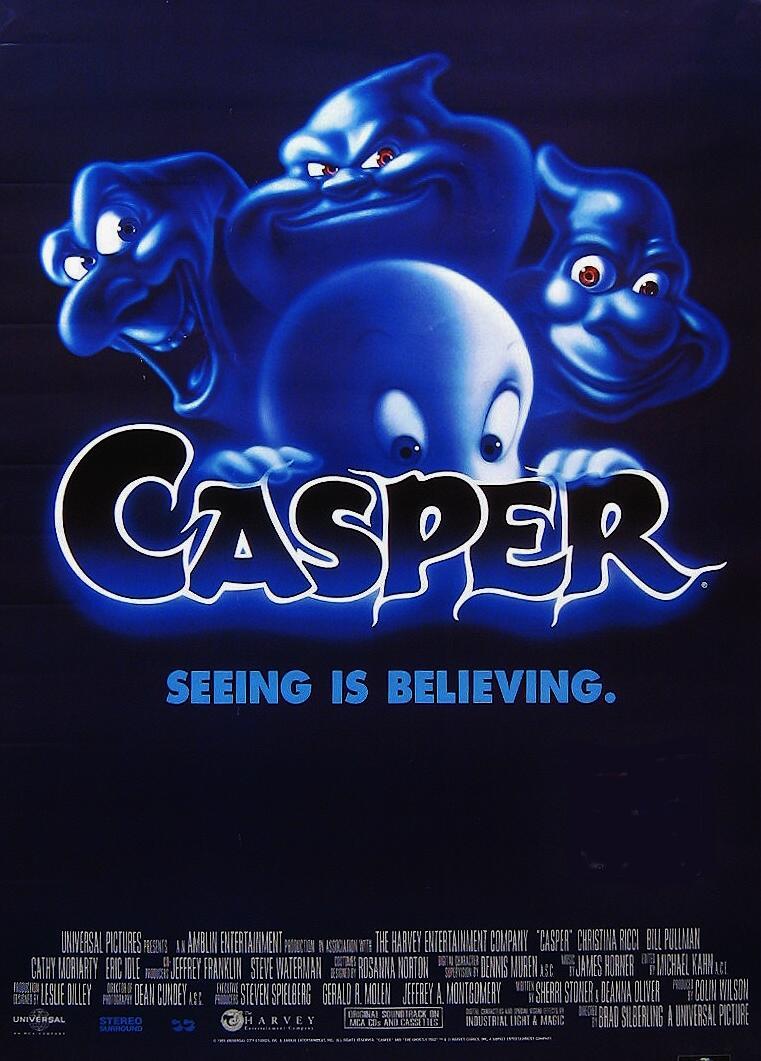 The Crossover Universe: Crossover Movie Poster: Casper