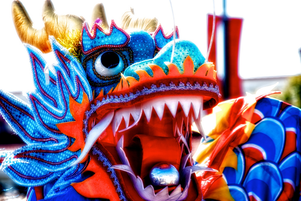 chinese new year dragon dance round up of dragon crafts - Chinese New Year Dragon Dance