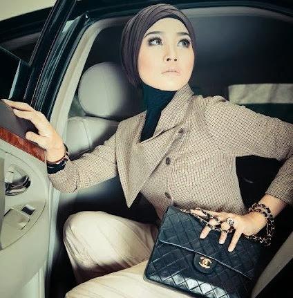 model hijab untuk kantoran