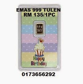 Emas 999 (Happy Birthday)