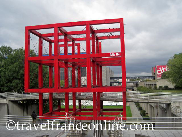 Folies in parc de la villette online travel france - Parking porte de la villette ...