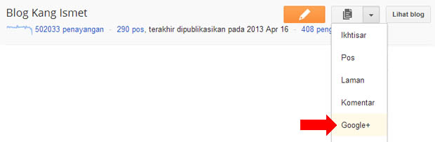 komentar google+ untuk blogger