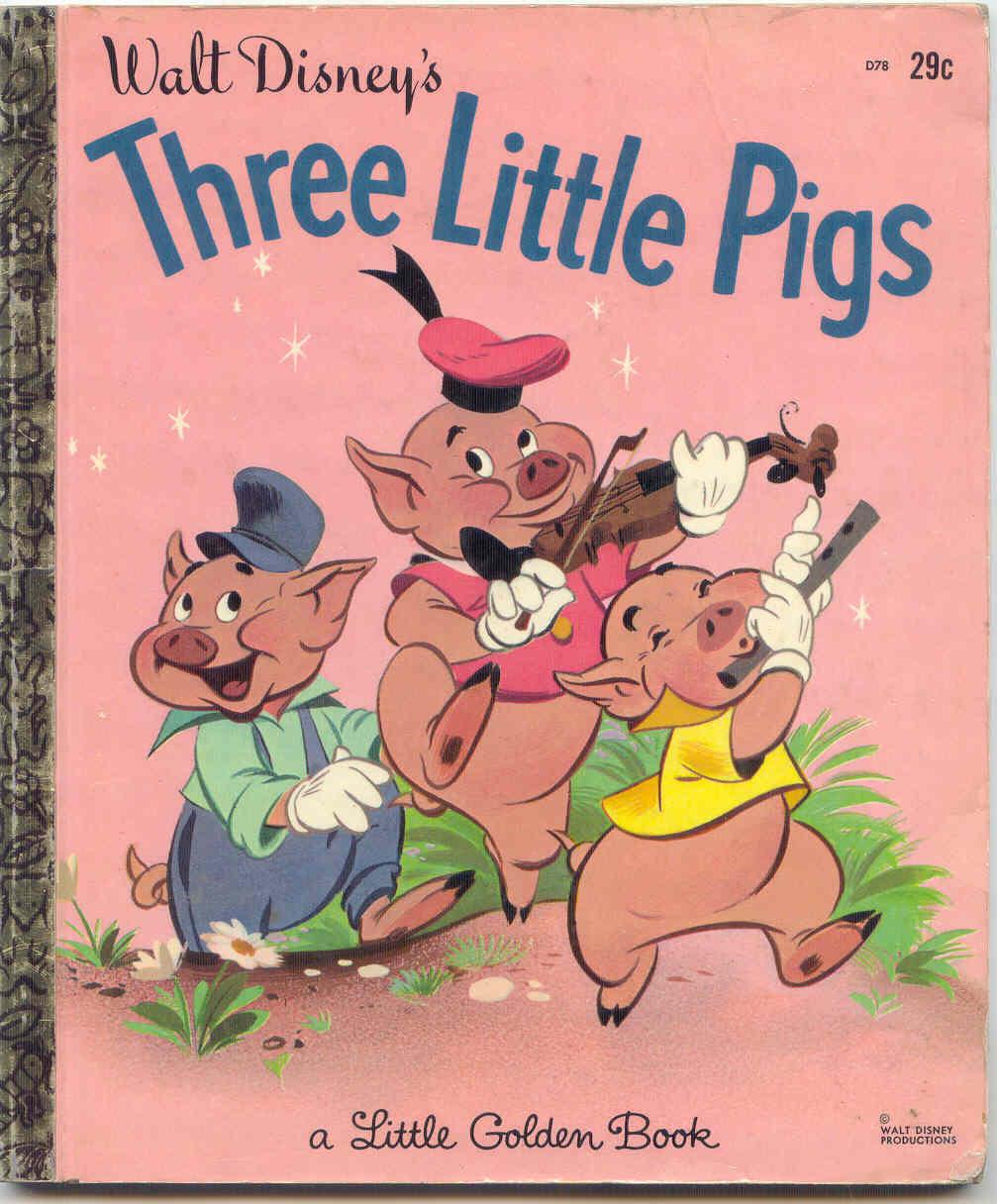 Does three little pigs send a dangerous message