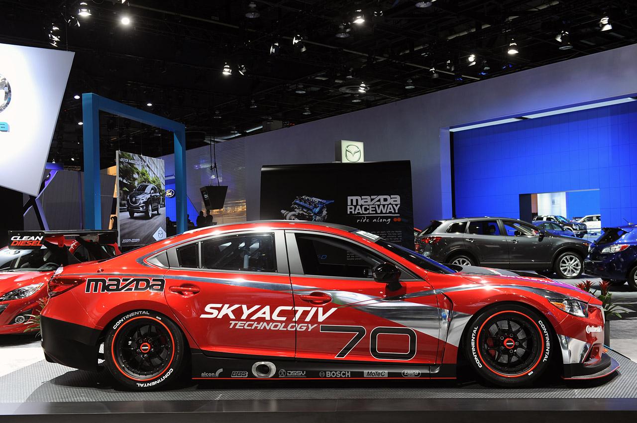 Mazda6 Skyactiv D Racecar Ready To Bring Diesel To Grand Am