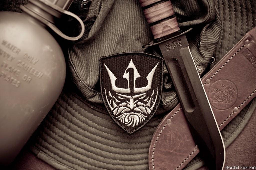Couteau de combat pour militaire KA-BAR USMC