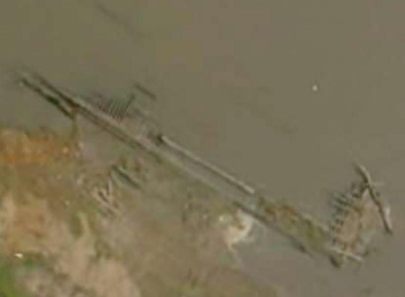 Famous Sunken Ships Drought Reveals Famous Sunken
