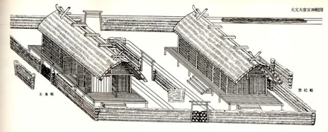 Pavillons provisoires Daijōgū