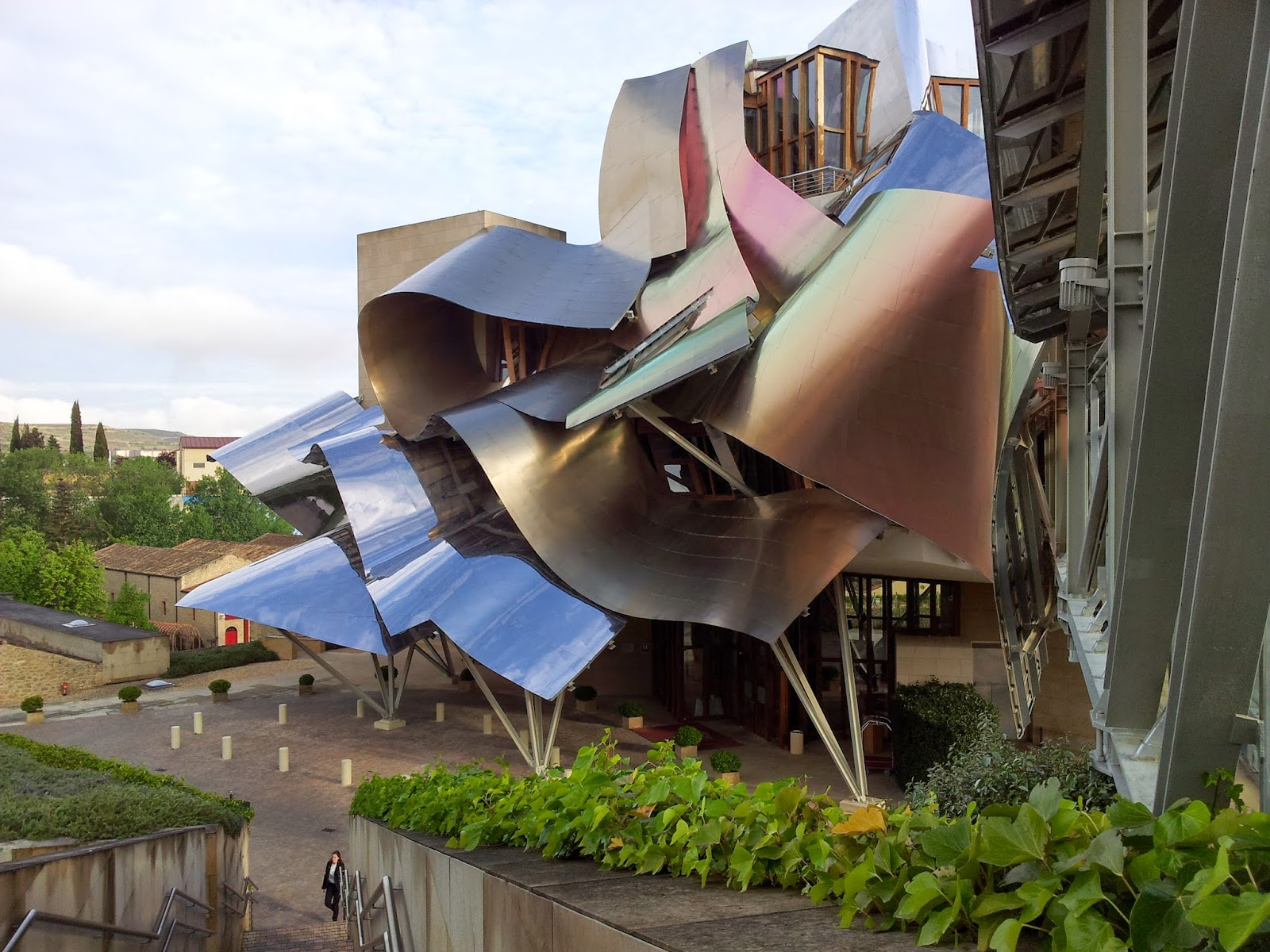 Tour in Rioja - Marques de Riscal Winery visit