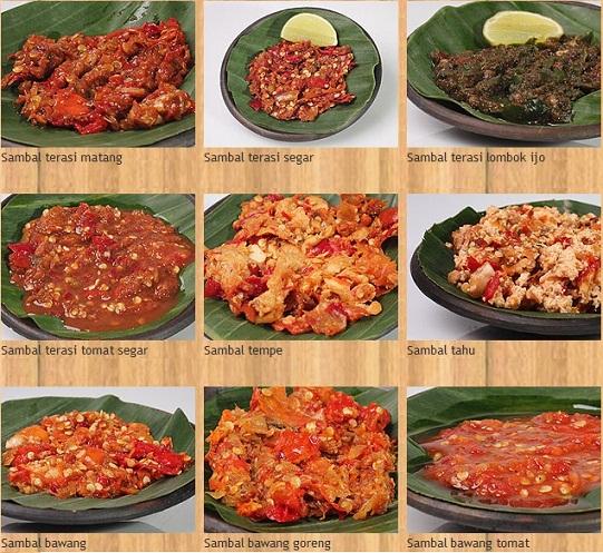 Resep sambal tomat aneka variasi resep sambal resep page 268