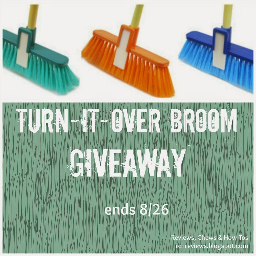 Turn-It-Over Broom Giveaway
