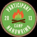 Camp NaNoWriMo 2013 Participant