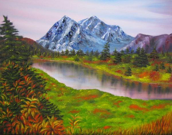 When Was Black Mesa Landscape Painted