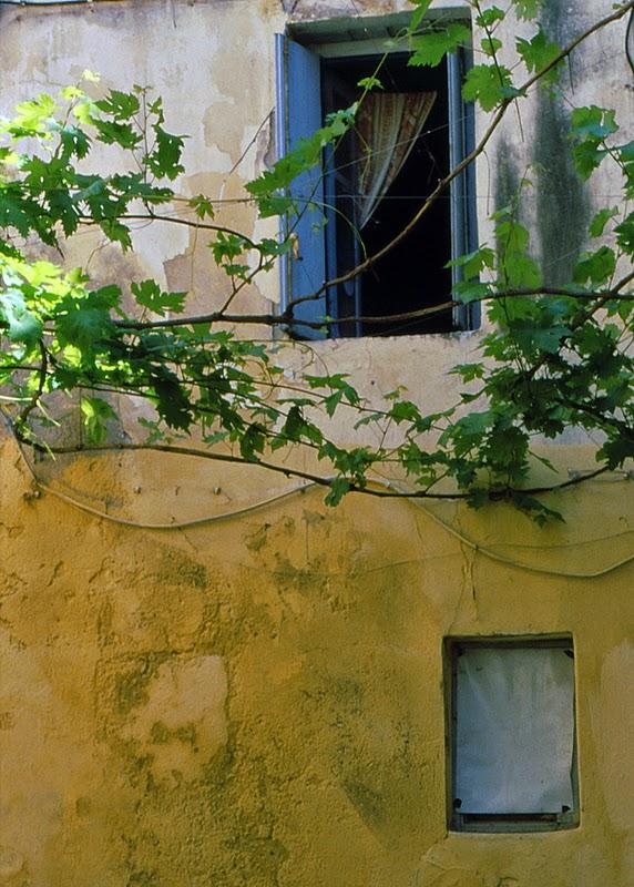 Fenêtre à Hania (Crète, Grèce)