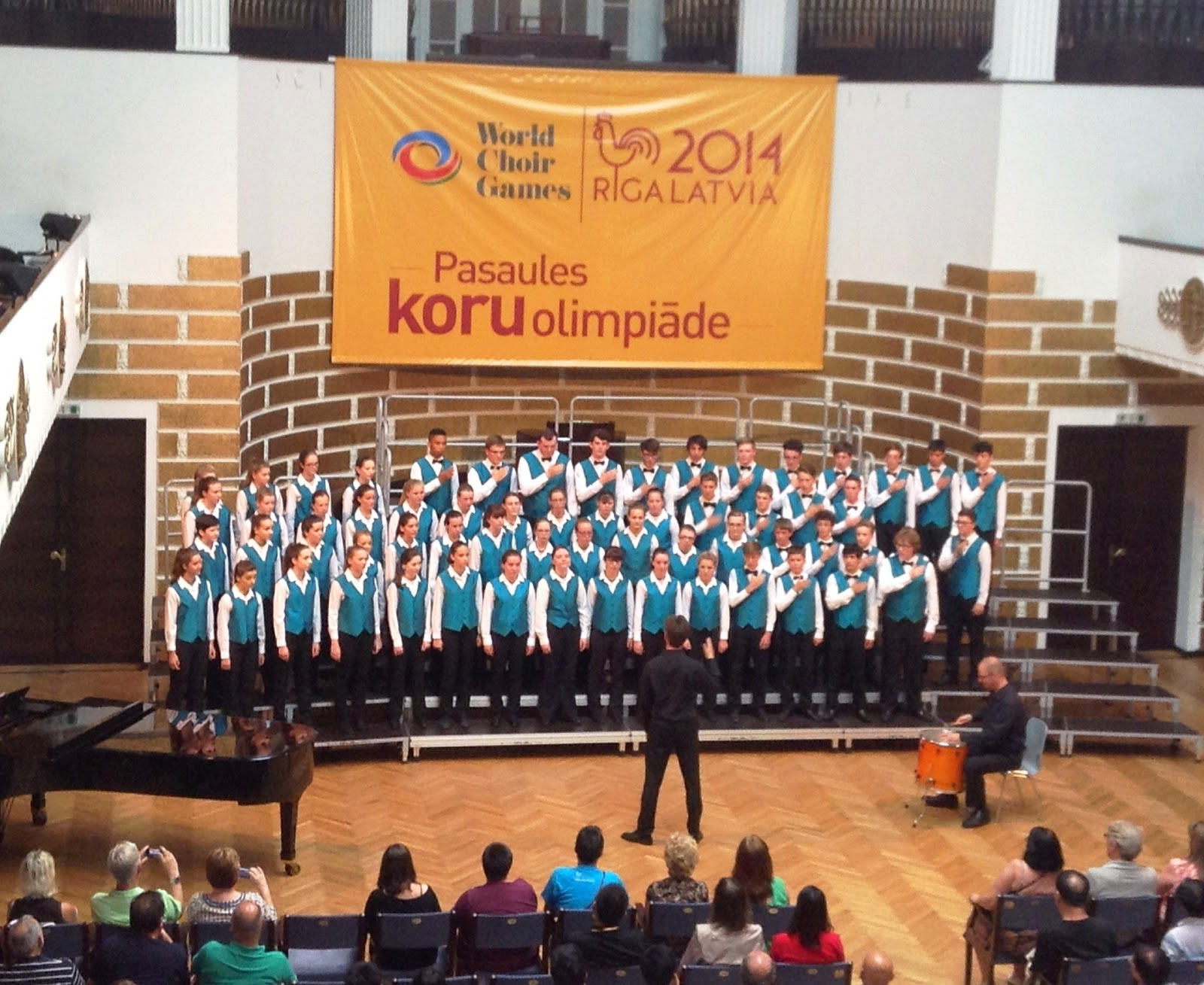 Cantate at the World Choir Games in Riga