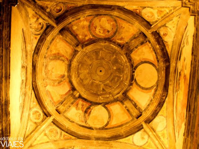 pinturas iglesia santa maria cazorla