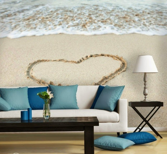 Wall Decoration Ideas With Photo Wallpaper 67