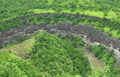 Ajanta Caves In India