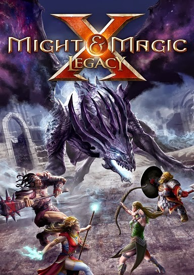 Might and magic X Legacy PC Cover