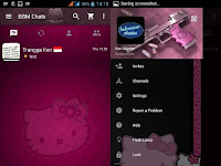 BBM MOD The Dark Hello Kitty v2.11.0.16
