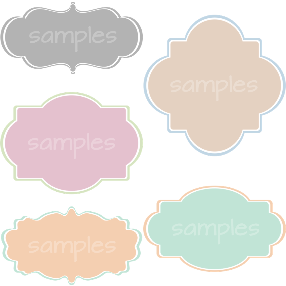 Clipart Banner Shapes