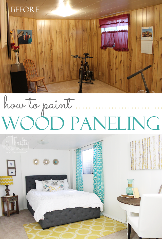 Thrifty and chic diy projects and home decor Mobile home interior wall paneling