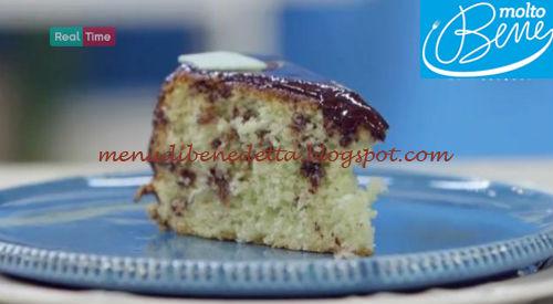 Torta menta e gocce di cioccolato ricetta Parodi per Molto Bene