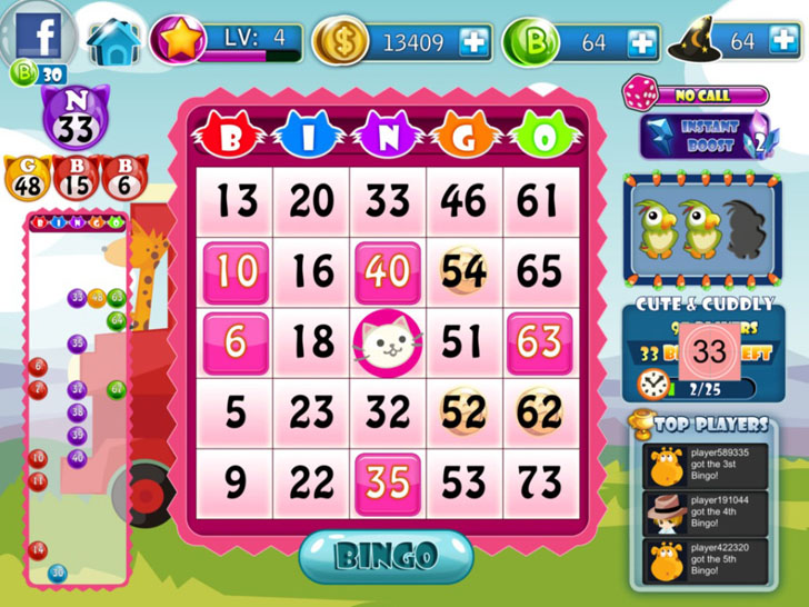 Bingo App iTunes App By TOPGAME - FreeApps.ws