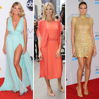 Heidi Klum, Best Dressed Celebrity of 2012, Best Dressed Celebrities