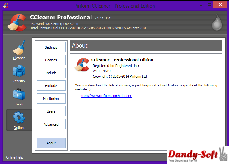 CCleaner Professional 4.11.4619 Full Version