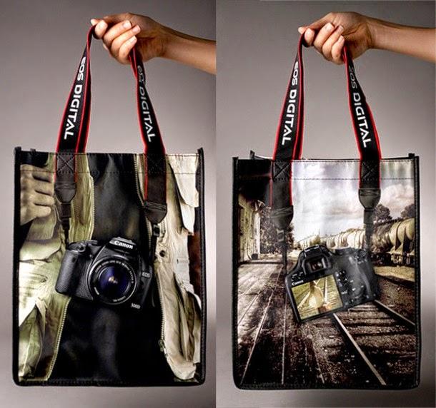 Canon EOS Digital Camera Creative Bagvertising