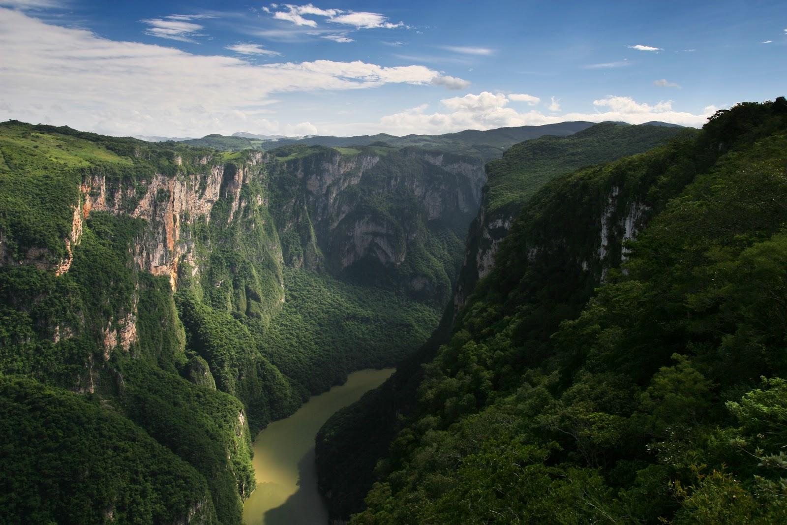 Rincon multimedia el ca on del sumidero rincones de la for Places to go for a mini vacation
