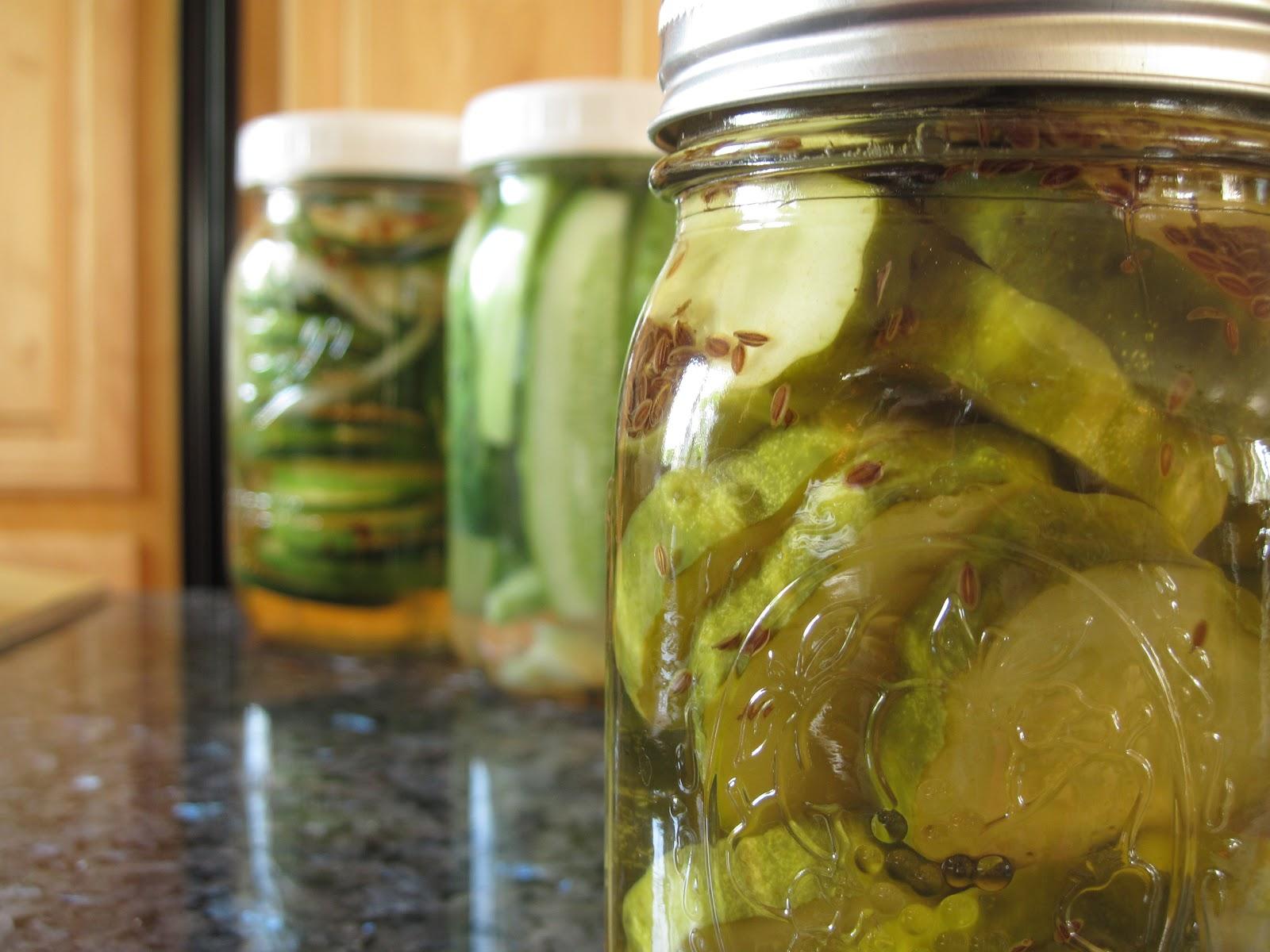 Pickles: three recipes | Yankee Kitchen Ninja