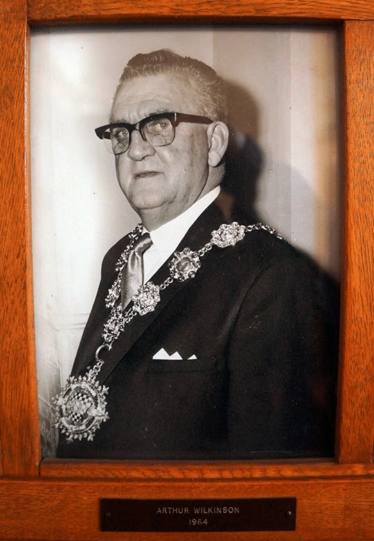 Arthur Wilkinson, Mayor of Dewsbury, 1964, photography