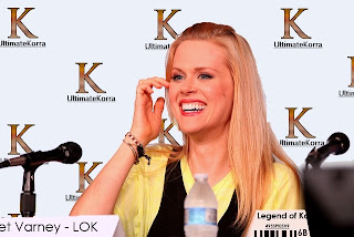 Janet Varney (voice of Korra) at 2012 San Diego Comic Con