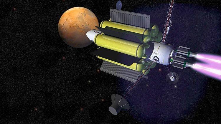 La NASA impulsa un motor de Plasma.