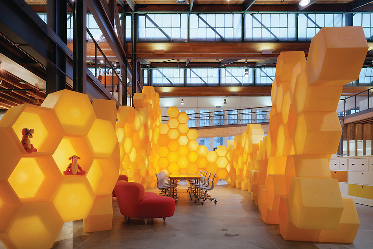 Play love design playfull interiors for Disney office decor
