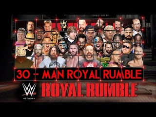 WWE 30 man entrants list