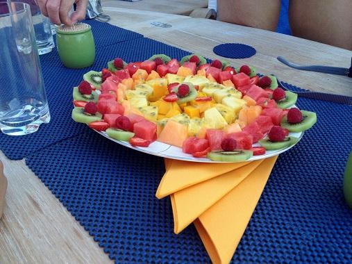 Fruit Platter Sunseeker Predator Rehab
