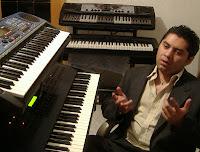 Durante las grabaciones de la banda sonora del videojuego mexicano Biops 2
