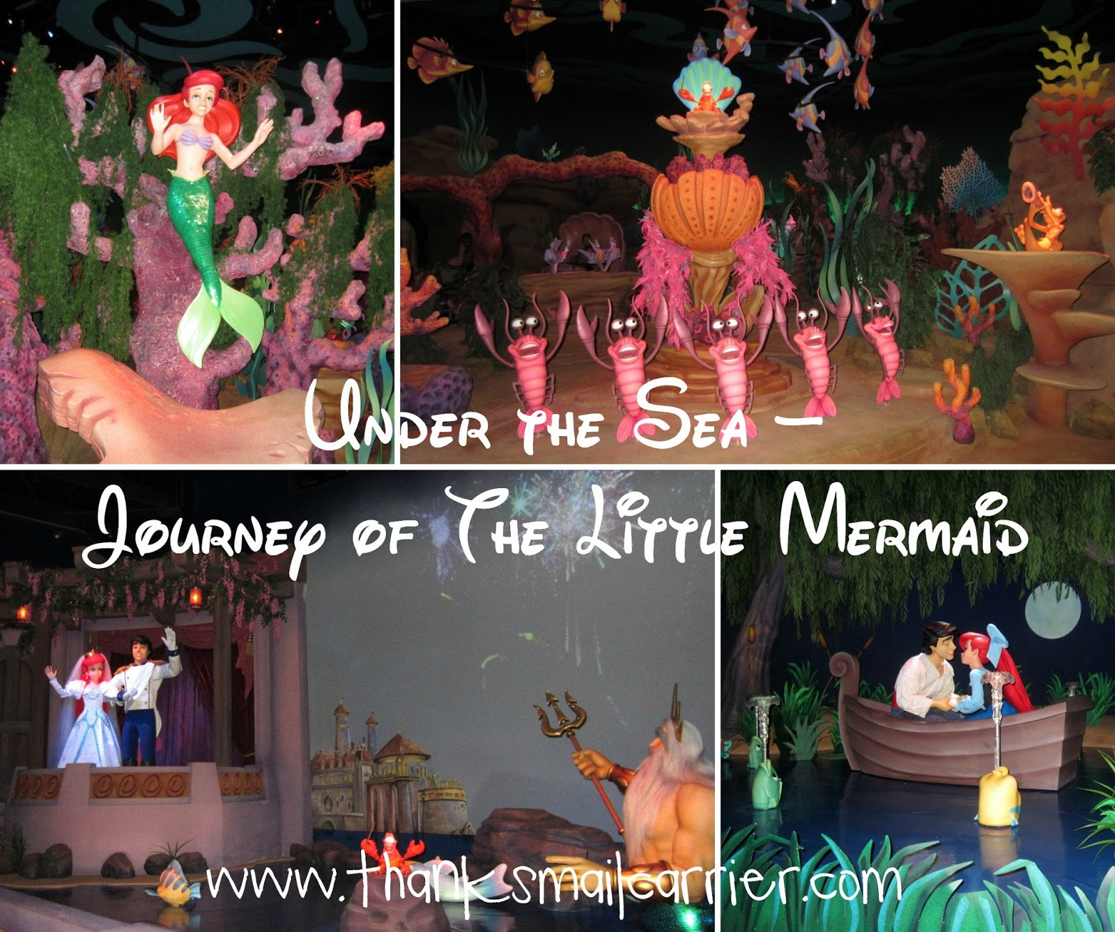 Under the Sea – Journey of The Little Mermaid