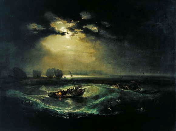 Lukisan Joseph Mallord William Turner, Fishermen at Sea