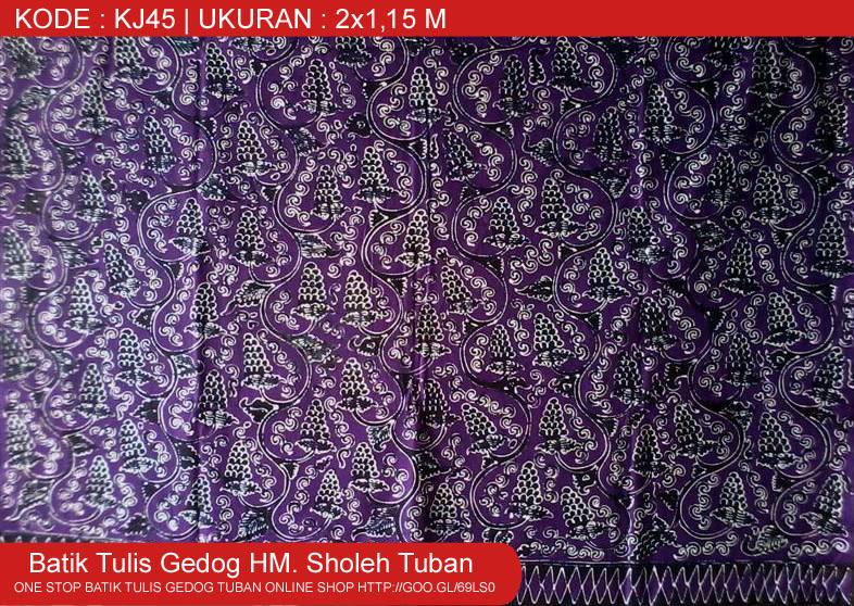 Kain Batik Tuban Motif Anggur-angguran, Motif Batik Tuban Motif Baru.