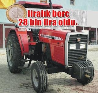 banka borcu banka kredisi nitelikli dolandırıcılık haciz icra iflas kanunu çiftçi 1 liralık borç