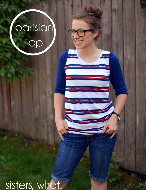 Parisian Top - Pattern Anthology