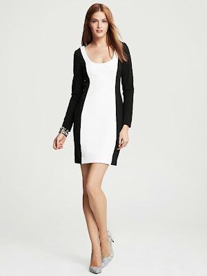 siyah beyaz elbise, gece elbiesi, kısa elbise,