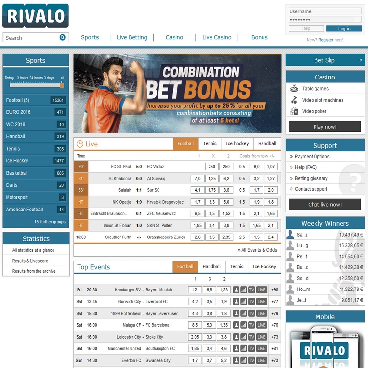 Rivalo Offers